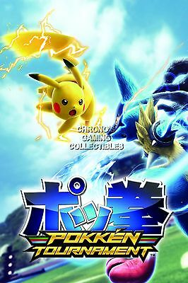 RGC Huge Poster - Pokken Tournament Pokemon Nintendo Wii U - EXT367