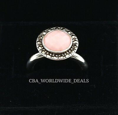 917c7a475 NEW Authentic PANDORA Sugar and Spice Pink Opal Pyrite Ring 190617POP Sz  5.5 - 9