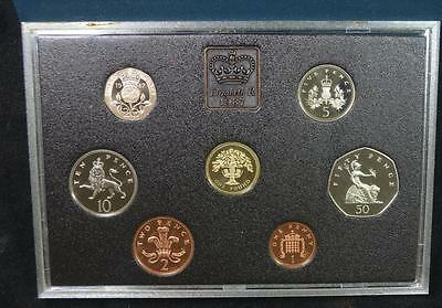 1987 United Kingdom Proof Coin Collection Set, Royal Mint, Ships Free!!!!