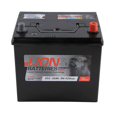 Type 005 420CCA 3 Years Warranty OEM Replacement Lion Batteries Car Battery 60Ah