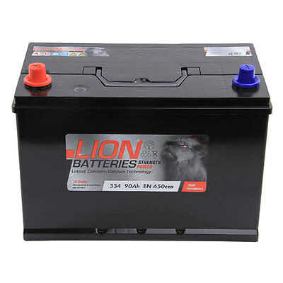 Type 334 680CCA 3 Years Warranty OEM Replacement Lion Batteries Car Battery 95Ah