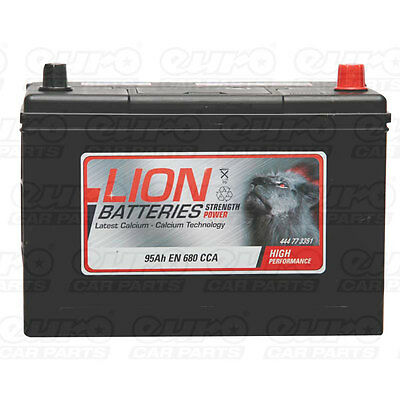 Type 335 680CCA 3 Years Warranty OEM Replacement Lion Batteries Car Battery 95Ah