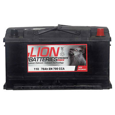 Type 110 700CCA 3 Years Warranty OEM Replacement Lion Batteries Car Battery 78Ah