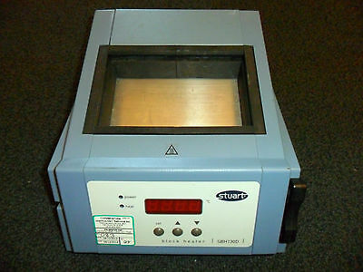 Stuart Digital Display Model SBH-130D Block Heater = Dry Bath Incubator Test OK!
