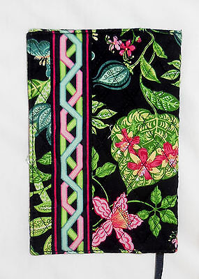 New w/Tags Vera Bradley FABRIC PAPERBACK BOOK COVER in BOTANICA