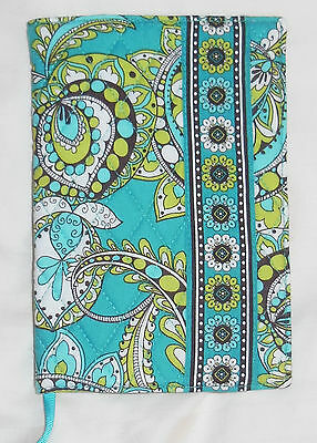 New w/Tags Vera Bradley FABRIC PAPERBACK BOOK COVER in PEACOCK