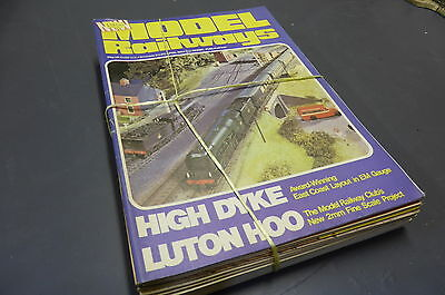 Model Railways - British Mag Collection 14 Issues 1981 - 94  Vintage MR9