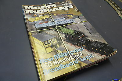 Model Railways - British Mag Collection 15 Issues 1979 - 87 Vintage MR5