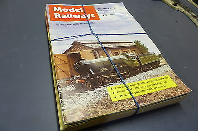 Model Railways - British Mag Collection 16 Issues 1972-75 Vintage MR6