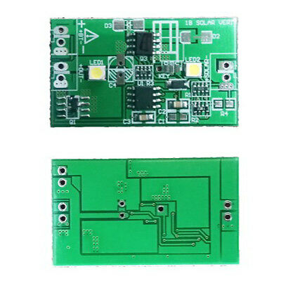 1A Solar Panel Controller 3.7V Lithium Battery Charging/ Discharge Light control