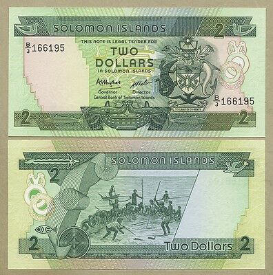 SOLOMON ISLANDS | SELECT FROM  $2-$20  QEII-2013  Unicirculated  ( Banknotes )