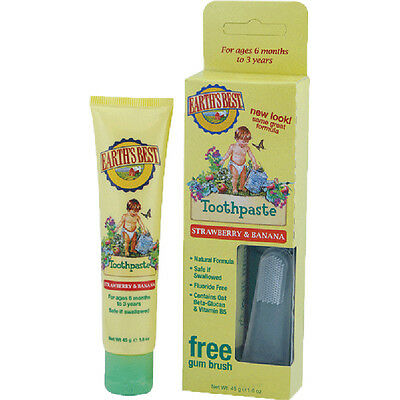 Jason Earth's Best Toddler Toothpaste 50g