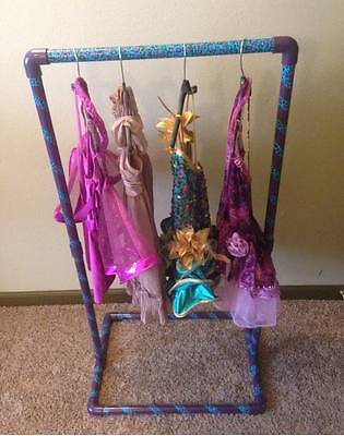 Portable Personal Costume Rack. Competition Dance; Recital; Travel; Garment rack