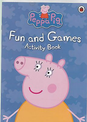 Peppa Pig Fun and Games Activity Book