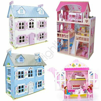 Leomark Kids Doll House With Furniture Play House Teapot Girls Free P+P