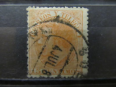 A2P8 SPAIN 1882 15c USED