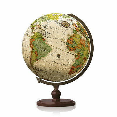Pintoo 3D Jigsaw Puzzle Globe - Antique Globe - 240 pieces