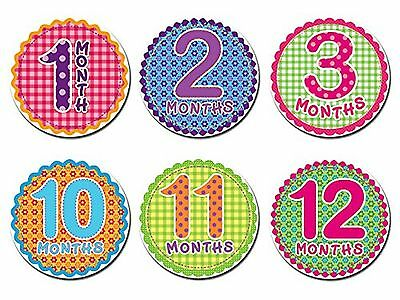 Sticky Bellies Baby Month Stickers - Oh Sew Adorable