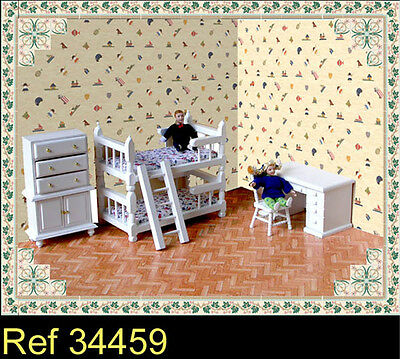 Orbit Dolls House 1/12th Room Decoration - 34459 Childs Bedroom