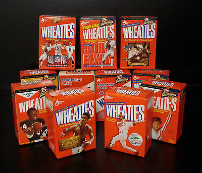 Lot of 11 BRAND NEW Mini Wheaties Boxes