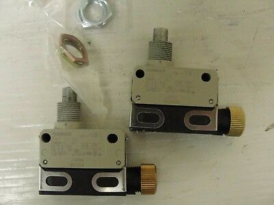 New Omron Limit Switch, D4E-1C20N, (LOT OF 2)$40.00 per switch