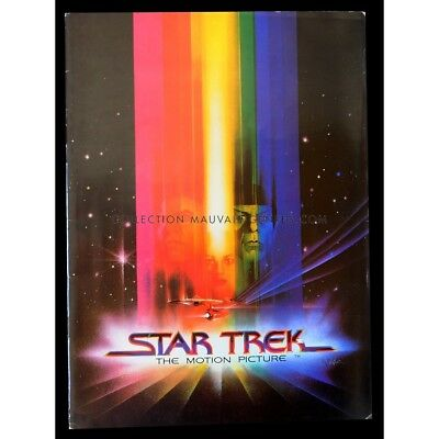 STAR TREK Programme de film 24p 21x30 - 1979 - William Shatner, Robert Wise