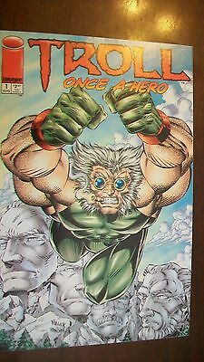 Troll Once A Hero Image Comics Issue 1 August 1994