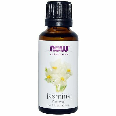 Now Foods JASMINE Essential Oil 1 oz Aromatherapy Romantic Relaxing Spa Diffuser