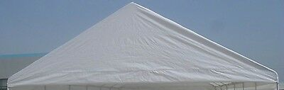20x40 Tent top cover with valance only