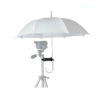 Practical Photographic Umbrella Tripod Stand Holder Clip/Clamp For Camera SLR 6A
