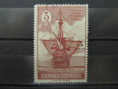 A2P8 SPAIN 1930 5c USED