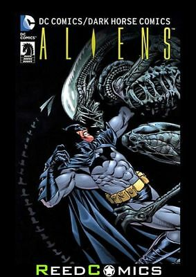 DC COMICS AND DARK HORSE ALIENS GRAPHIC NOVEL (400 Pages) New Paperback