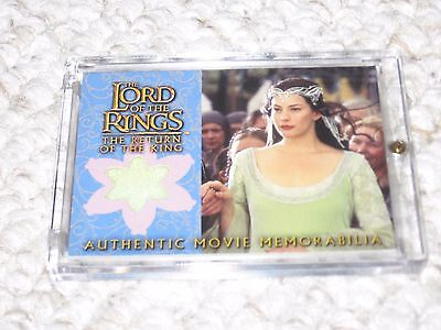 Lord of the Rings Arwen Coronation Dress Authentic NM Costume Return of the King