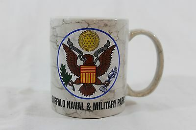 Buffalo Naval Military Park mug Army Navy military base seal