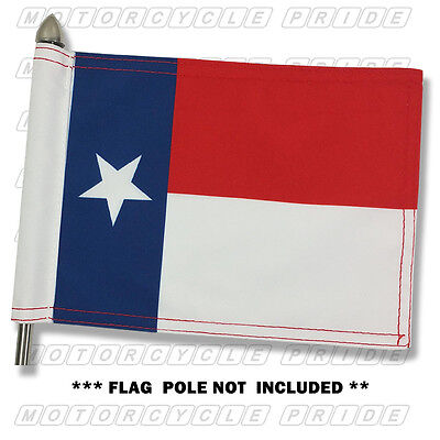 TEXAS MOTORCYCLE FLAG | 6X9 or 10X15 | Double Sided and Double Stitched