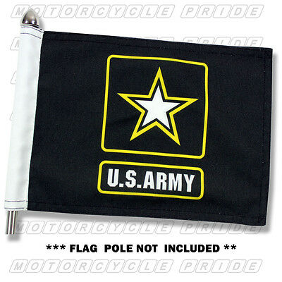 NEW ARMY MOTORCYCLE FLAG | 6X9 or 10X15 | Double Sided and Double Stitched