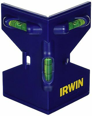 IRWIN Tools Magnetic Post Level (1794482) Molded frame [Blue] BRAND NEW AOI.