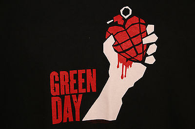 Green Day TShirt 2005 American Idiot Concert Tour Shirt Cities Two Sided