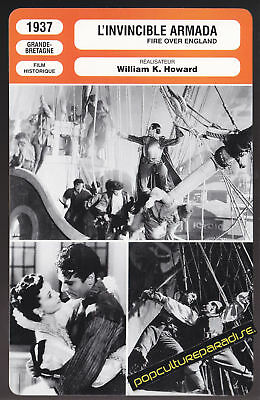FIRE OVER ENGLAND 1937 Laurence Olivier FILM PHOTO CARD