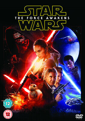 Star Wars: The Force Awakens DVD (2016) Harrison Ford, Abrams (DIR) cert 12