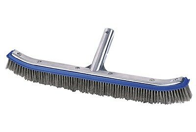 Pool Cleaning brush Stainless steel wide / Pool cleaner / Pool brush wide