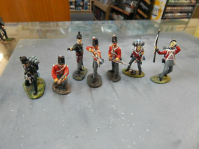 54mm Britains Toy Soldiers - British  Napoleonics - no boxes