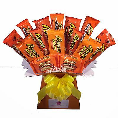 Reese's Peanut Butter Chocolate Bouquet - Sweet Hamper Tree - Perfect Gift