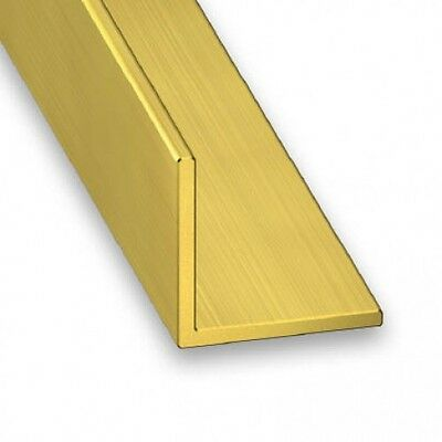 CHEAPEST Brass Extruded Angle - Various Sizes - 150mm - 1000mm long