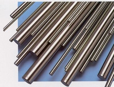 Metric Silver Steel Round Bar - Ground Shaft Rod - Various sizes