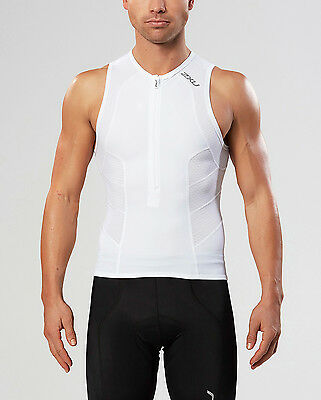 NEW 2XU Comp Tri Singlet Mens Shirts