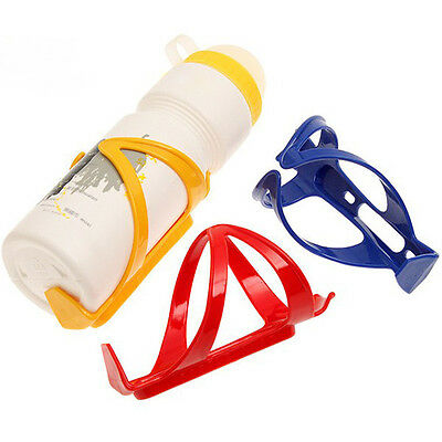 Bicycle MTB Road Mountain Sport Water Bottle Drinks Cup Plastic Holder Durable