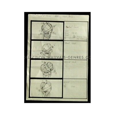 LORDS OF ILLUSION Original Production Storyboard US '95 Clive Barker