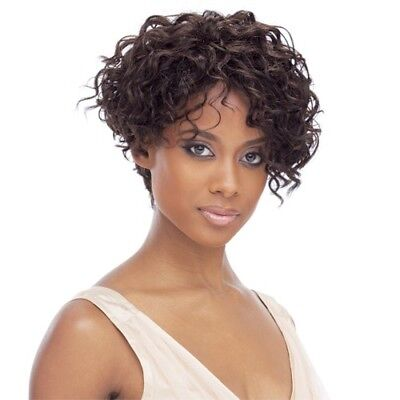 Kim - Freetress Equal Synthetic Hair Wig Short Curly Style