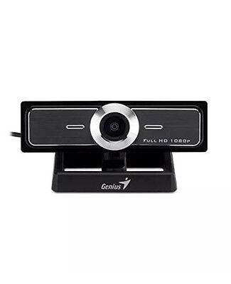 Genius 120-degree Ultra Wide Angle Full HD Conference Webcam(WideCam F100) New
